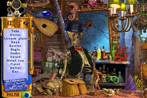 Capturas de pantalla del juego Titanic: Hidden expedition para iPhone, iPad o iPod.