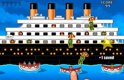 Screenshots do jogo Titanic Rescue para iPhone, iPad ou iPod.