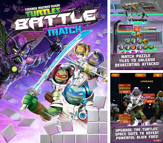 除了 iPhone、iPad 或 iPod 游戏,您还可以免费下载TMNT battle match: Ninja Turtles, 。