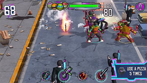 Descarga gratuita de TMNT: Portal power para iPhone, iPad y iPod.