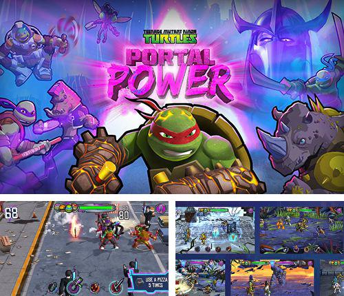 In addition to the game Tyrant unleashed for iPhone, iPad or iPod, you can also download TMNT: Portal power for free.