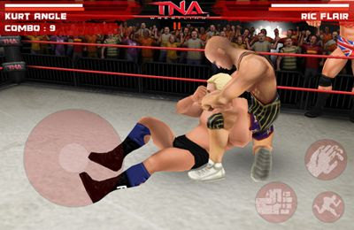 Screenshots of the TNA Wrestling iMPACT game for iPhone, iPad or iPod.