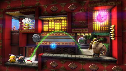 Screenshots of the To-Fu fury game for iPhone, iPad or iPod.