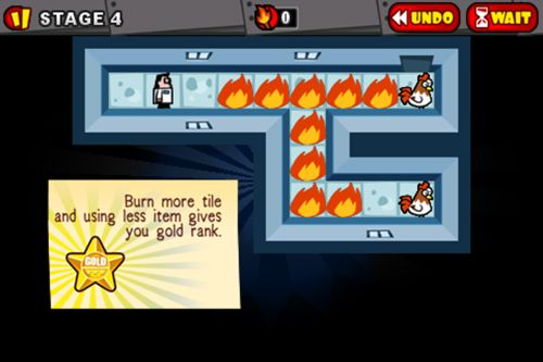 Download Toast the chicken iPhone free game.