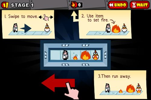Capturas de pantalla del juego Toast the chicken para iPhone, iPad o iPod.