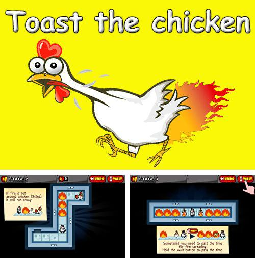 In addition to the game Puzzle house: Mystery rising for iPhone, iPad or iPod, you can also download Toast the chicken for free.