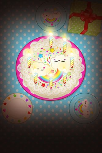 Screenshots of the Toca: Birthday party game for iPhone, iPad or iPod.