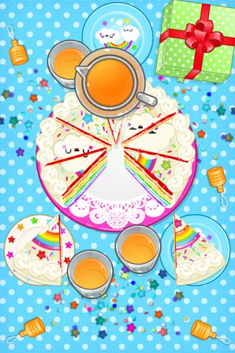 Capturas de pantalla del juego Toca: Birthday party para iPhone, iPad o iPod.
