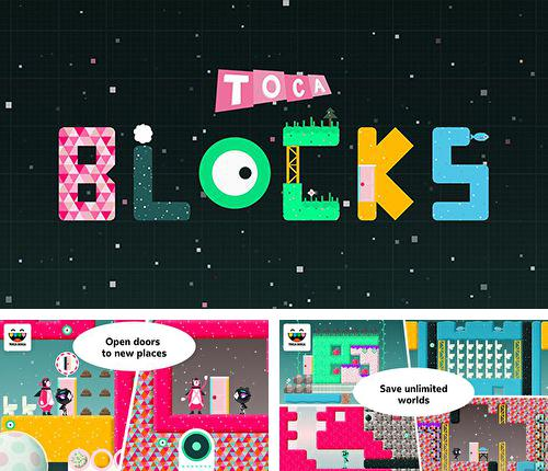 In addition to the game Race city for iPhone, iPad or iPod, you can also download Toca: Blocks for free.