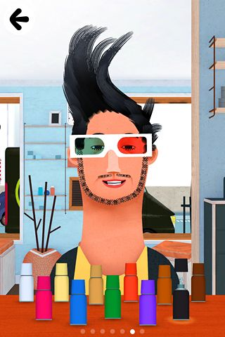 Capturas de pantalla del juego Toca: Hair salon 2 para iPhone, iPad o iPod.