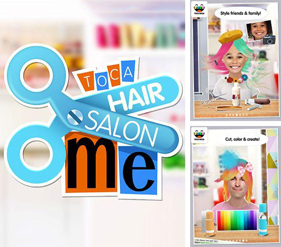 Download Toca: Hair salon me iPhone free game.