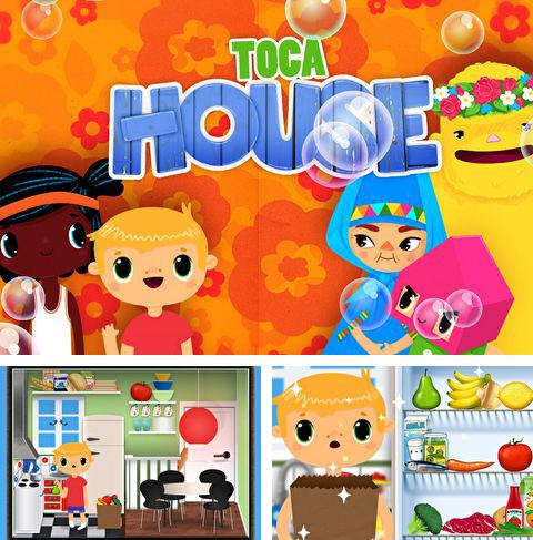 In addition to the game Flight simulator: Paris 2015 for iPhone, iPad or iPod, you can also download Toca: House for free.