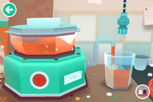 Capturas de pantalla del juego Toca: Kitchen 2 para iPhone, iPad o iPod.