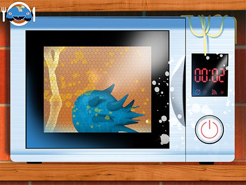 Screenshots of the Toca: Kitchen monsters game for iPhone, iPad or iPod.