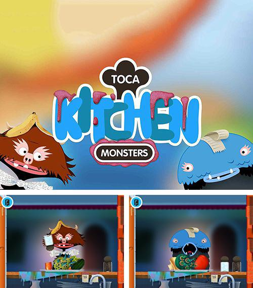 In addition to the game Zombie Run HD for iPhone, iPad or iPod, you can also download Toca: Kitchen monsters for free.
