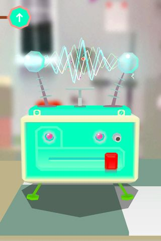 Screenshots of the Toca lab game for iPhone, iPad or iPod.