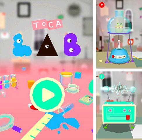 In addition to the game Future war: Reborn for iPhone, iPad or iPod, you can also download Toca lab for free.