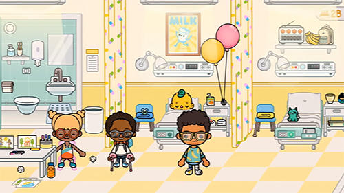 Capturas de pantalla del juego Toca life: Hospital para iPhone, iPad o iPod.