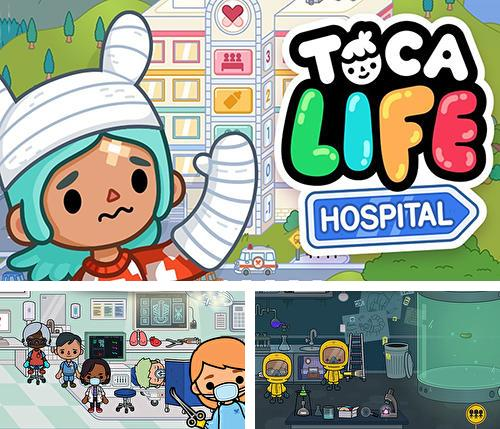 In addition to the game Splash !!! for iPhone, iPad or iPod, you can also download Toca life: Hospital for free.