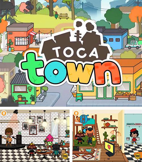 In addition to the game Ultra Jump for iPhone, iPad or iPod, you can also download Toca life: Town for free.