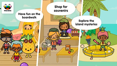 Download Toca life: Vacation iPhone free game.