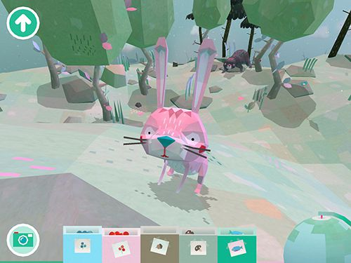 Screenshots of the Toca: Nature game for iPhone, iPad or iPod.
