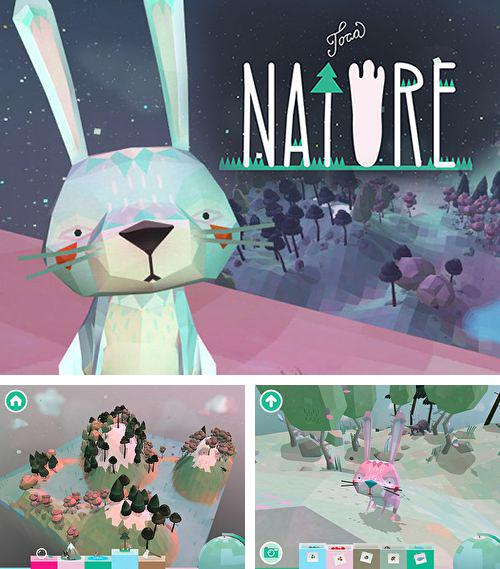 In addition to the game Telepaint for iPhone, iPad or iPod, you can also download Toca: Nature for free.