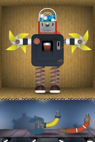 Download Toca: Robot lab iPhone free game.