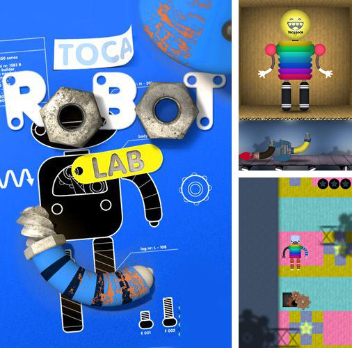 In addition to the game 7 lbs of freedom for iPhone, iPad or iPod, you can also download Toca: Robot lab for free.
