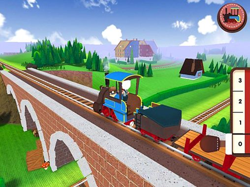 Screenshots of the Toca: Train game for iPhone, iPad or iPod.