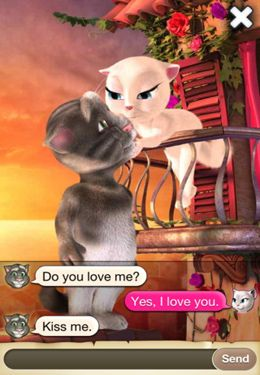 Screenshots do jogo Tom Loves Angela para iPhone, iPad ou iPod.