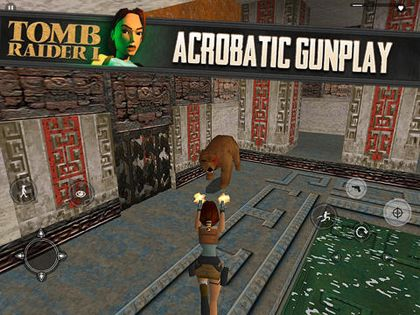Download Tomb Raider iPhone free game.