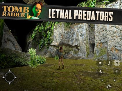 Capturas de pantalla del juego Tomb Raider para iPhone, iPad o iPod.
