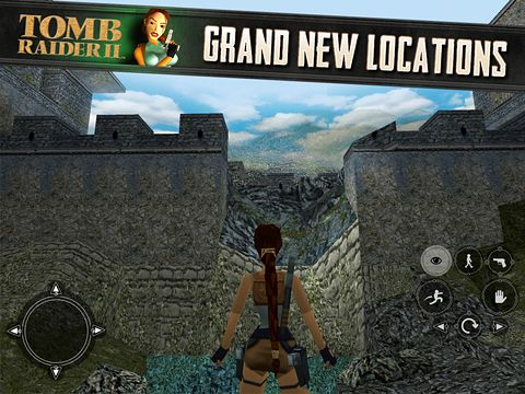 Download Tomb raider 2 iPhone free game.
