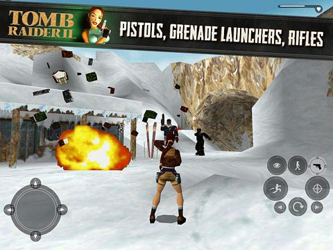 Descarga gratuita de Tomb raider 2 para iPhone, iPad y iPod.