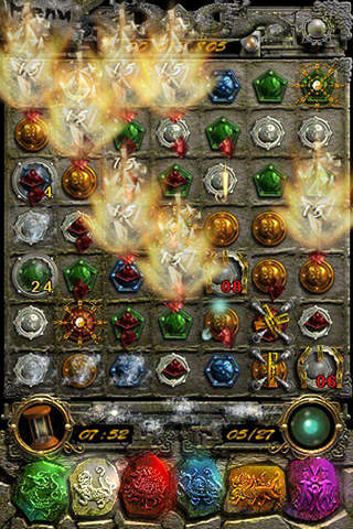 Capturas de pantalla del juego Tomb treasure: Ruin of the dragon para iPhone, iPad o iPod.