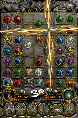 Écrans du jeu Tomb treasure: Ruin of the dragon pour iPhone, iPad ou iPod.
