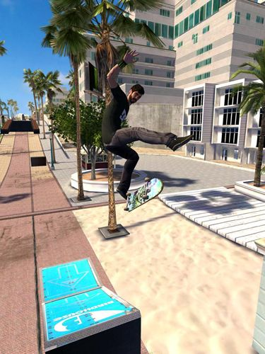 Скриншот игры Tony Hawk's: Shred session на Айфон.