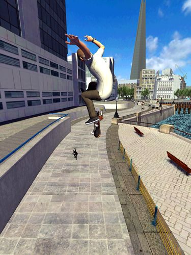 Геймплей Tony Hawk's: Shred session для Айпад.