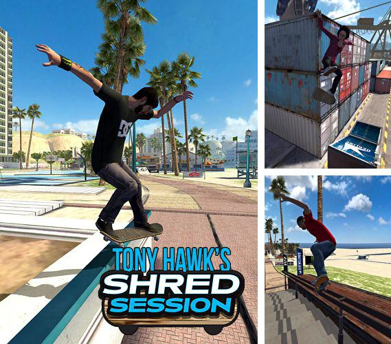 Kostenloses iPhone-Game Tony Hawk's: Shred Session See herunterladen.