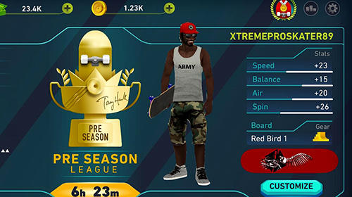 Descarga gratuita del juego Skate jalea de Tony Hawk para iPhone.