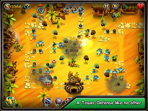 Screenshots of the Toon tactics game for iPhone, iPad or iPod.
