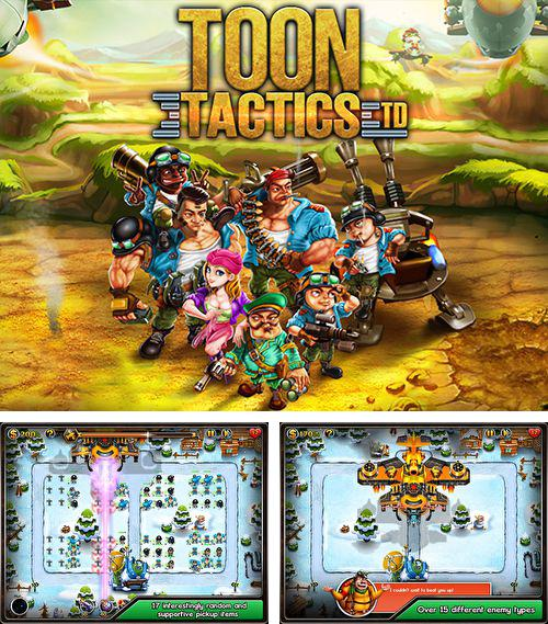 In addition to the game Birdy Bounce for iPhone, iPad or iPod, you can also download Toon tactics for free.