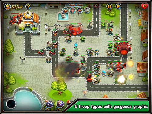 Free Toon tactics TD: Ambush download for iPhone, iPad and iPod.