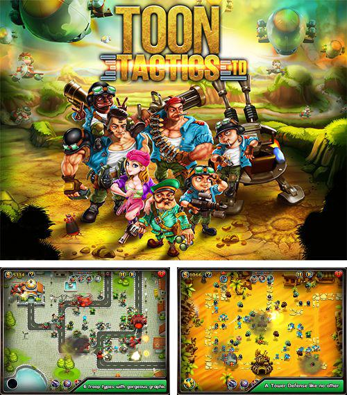 In addition to the game EPOCH for iPhone, iPad or iPod, you can also download Toon tactics TD: Ambush for free.