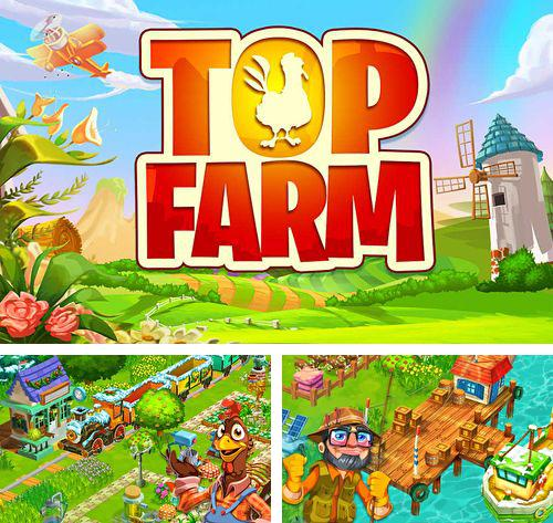 In addition to the game A tiny sheep virtual farm pet: Puzzle for iPhone, iPad or iPod, you can also download Top farm for free.