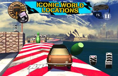 Kostenloser Download von Top Gear: Stunt School Revolution für iPhone, iPad und iPod.