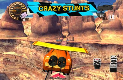Screenshots vom Spiel Top Gear: Stunt School Revolution für iPhone, iPad oder iPod.