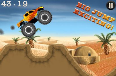 Скачать игру Top Monster Trucks Racing Pro для iPad.