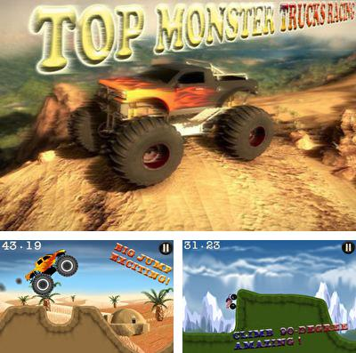 Download Top Monster Trucks Racing Pro iPhone free game.
